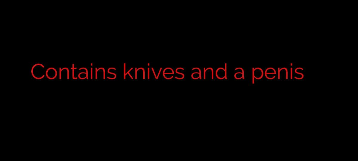 knives out black