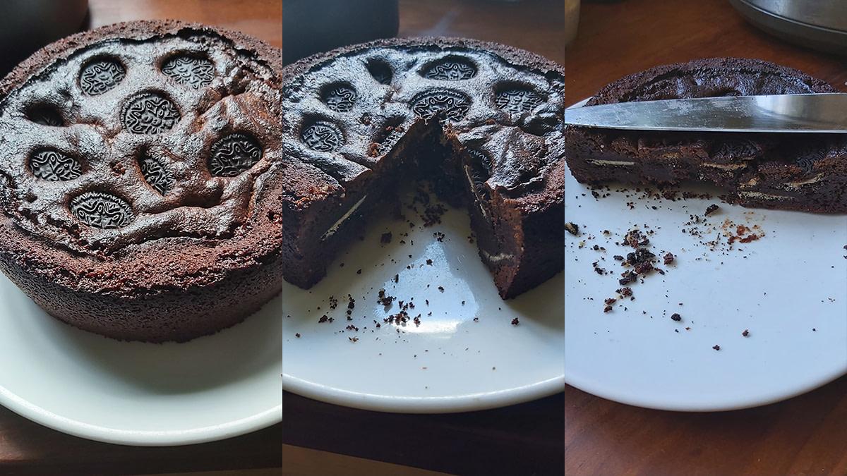 Oreo Brownie Cake